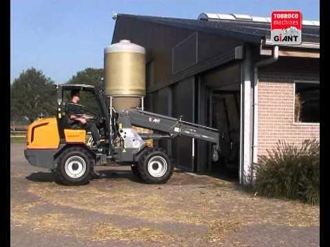 Giant wheelloaders Tobroco company movie