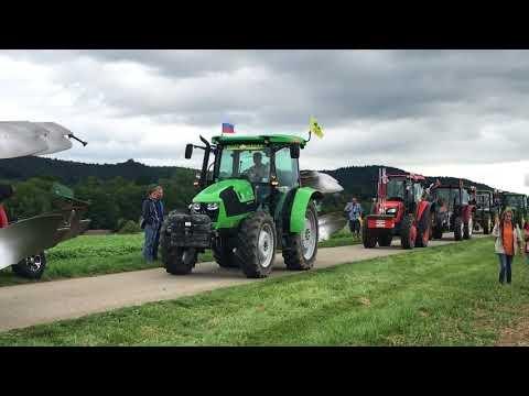 34-й Чемпионат Европы по пахоте - парад тракторов