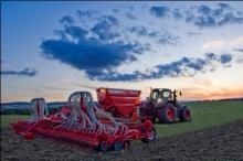 Пневматическая зерновая сеялка Kverneland Accord DG