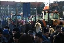Польские фермеры протестуют из-за трат правительства на Украину