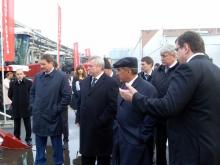 Президент Республики Татарстан Рустам Минниханов посетил компанию «Ростсельмаш»